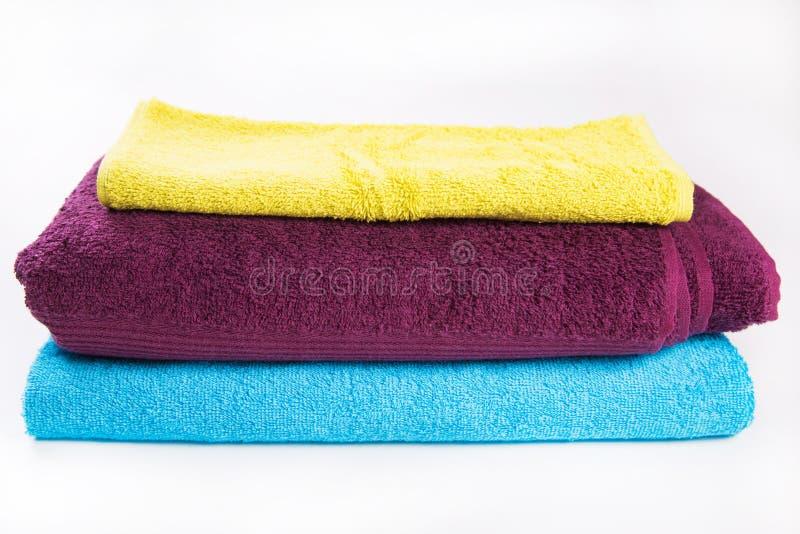 Asciugamani in studio immagini stock