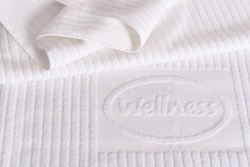Asciugamano di benessere immagine stock libera da diritti