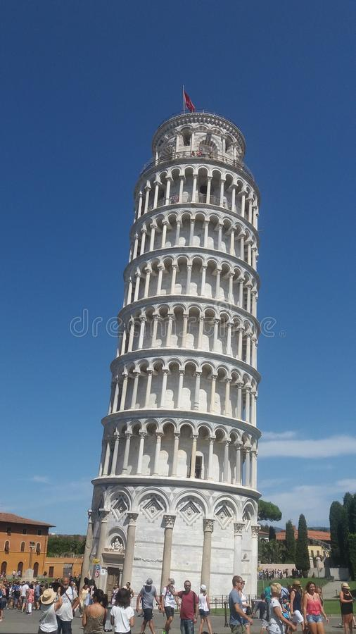 Asciugamano di Pisa immagini stock
