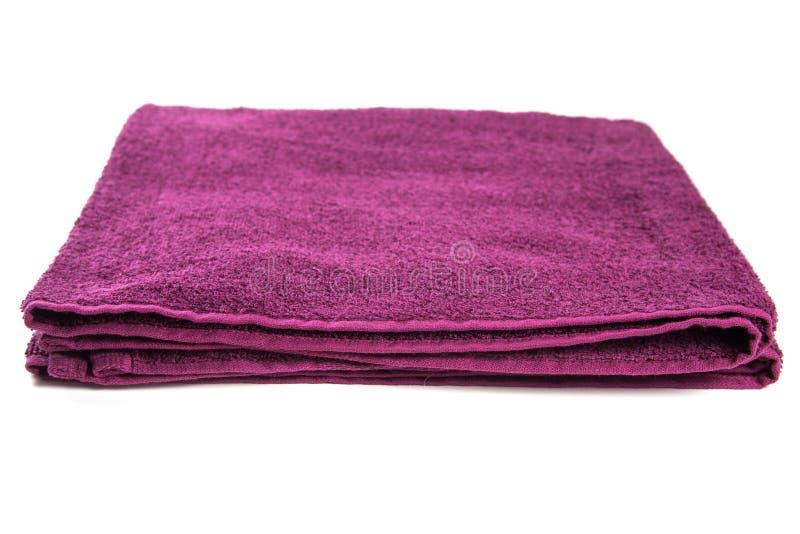 Asciugamano in studio fotografia stock