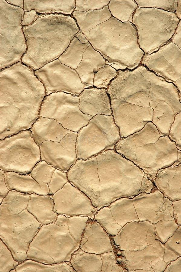 Asciughi la terra incrinata, svuotamento immagine stock libera da diritti