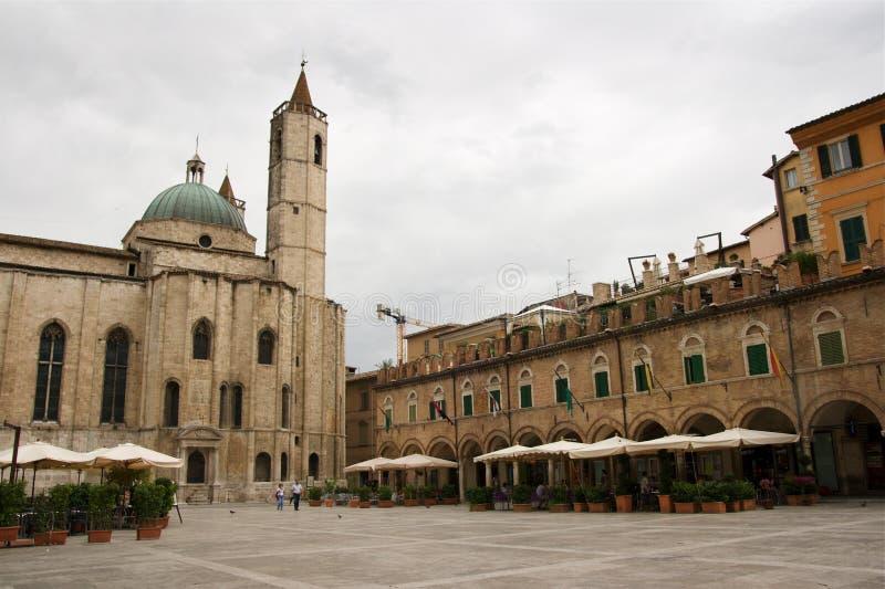 Ascoli Piceno, Marche stock photo