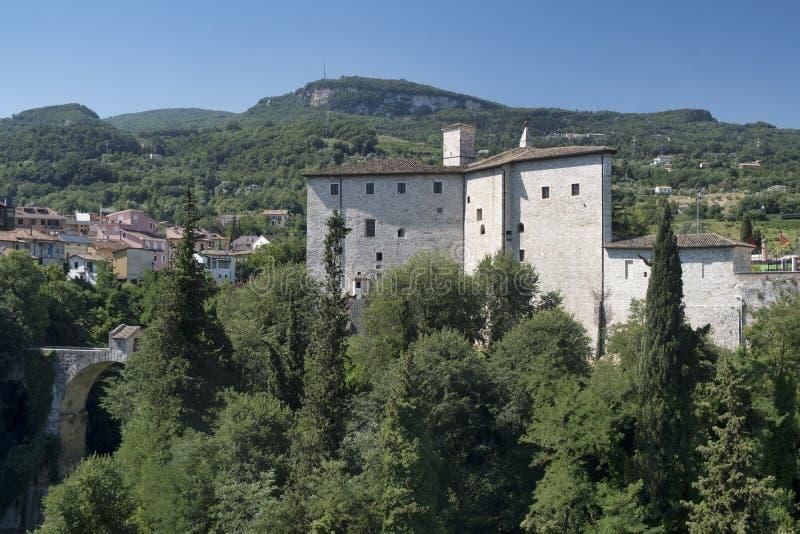 Ascoli Piceno Marches, Italy, Malatesta fortress royalty free stock images