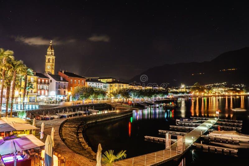 Ascona,瑞士 库存照片