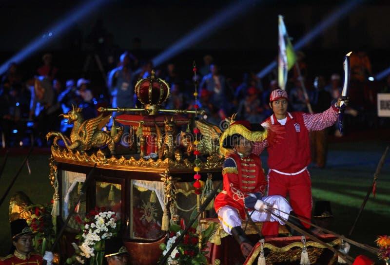 ASEAN para spelar öppning royaltyfri foto