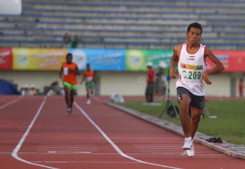 Asean-paragames: athletisch stockbild