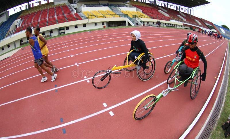 Asean-paragames: athletisch stockfotografie