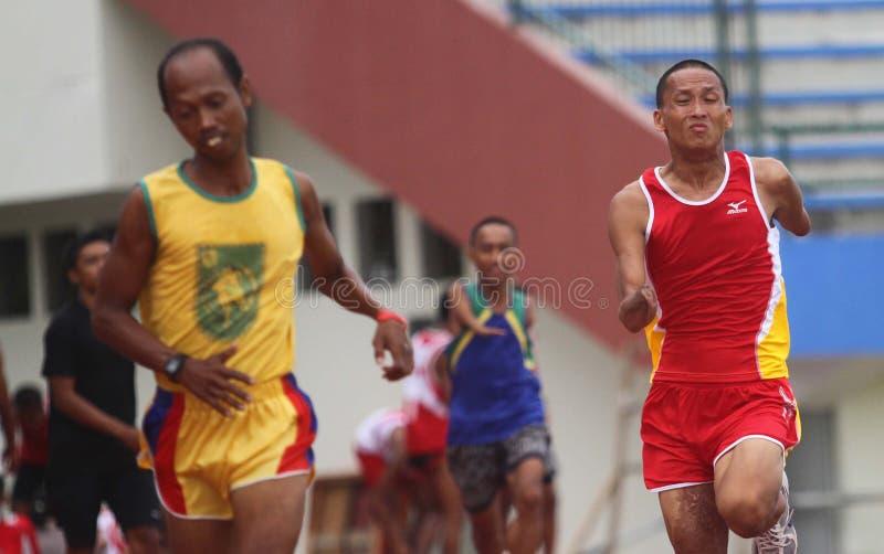 Asean-paragames: athletisch stockfotos