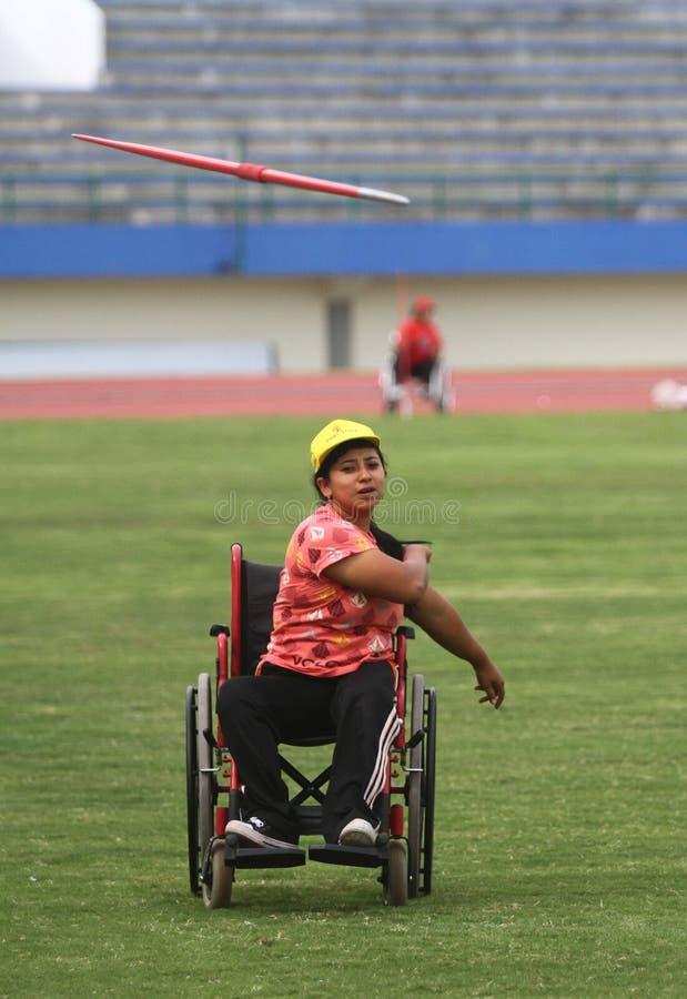 Asean-paragames: athletisch lizenzfreie stockbilder