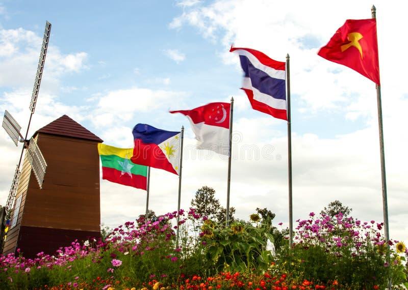 Asean royalty free stock image