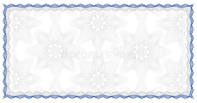 Asegure el fondo del documento ilustración del vector
