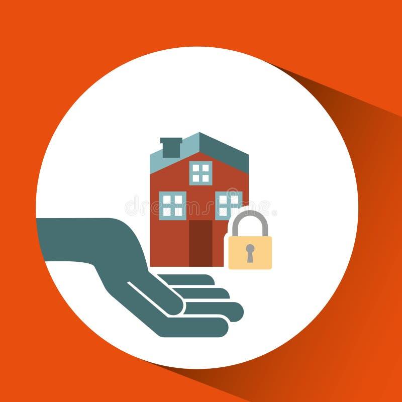 asegure el riesgo del seguro de la protección imagen de archivo libre de regalías