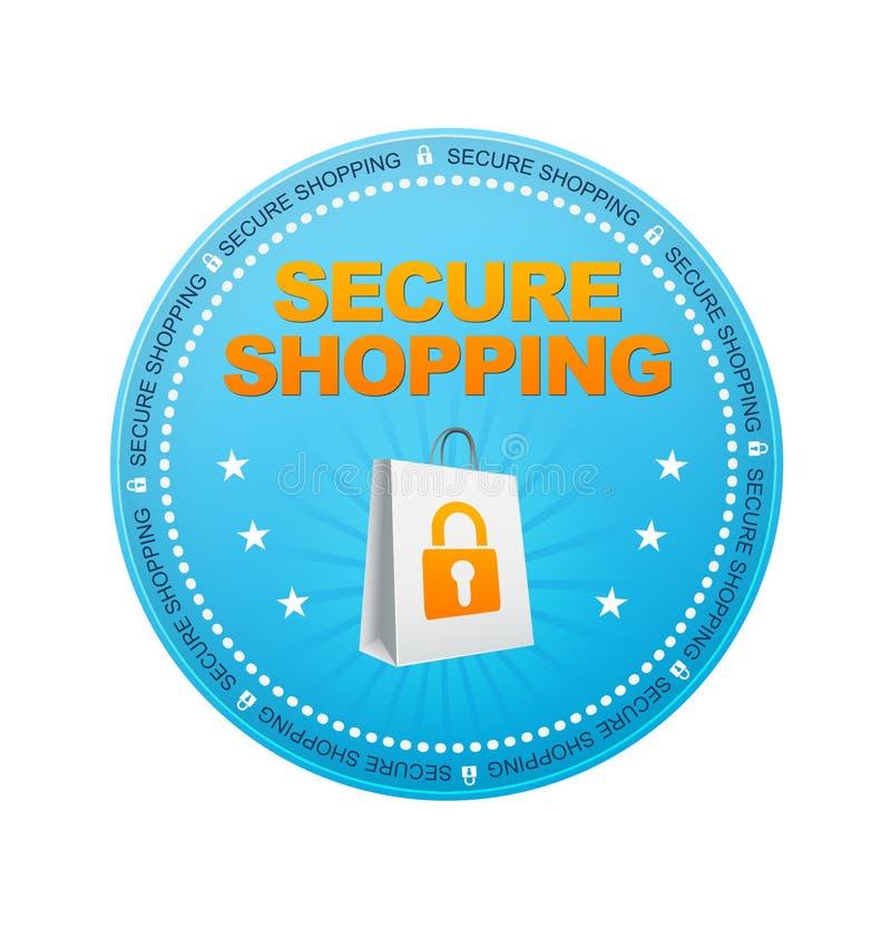 Asegure las compras stock de ilustración