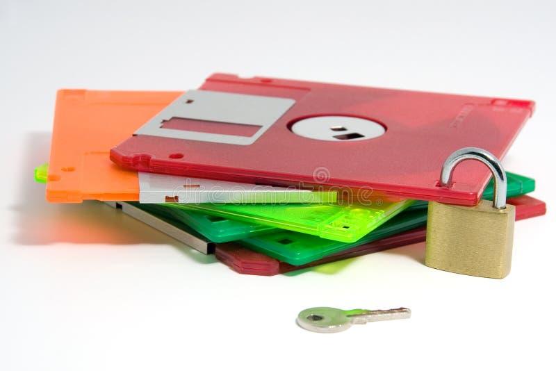 Asegure los datos imagen de archivo
