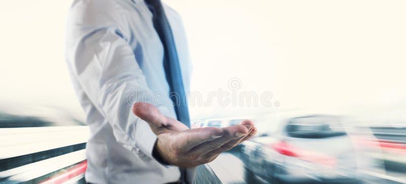 Asekuracyjny i zbawczy samochód zdjęcia royalty free