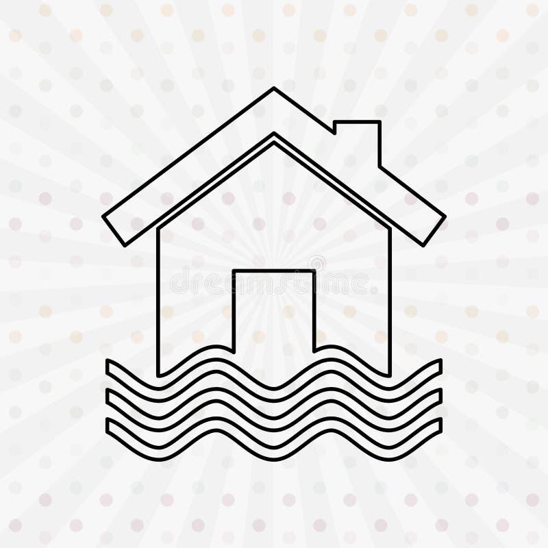 Asekuracyjny ikona projekt ilustracji