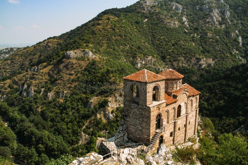 Asen Forteczny kościół Święta matka bóg Asenovgrad Bułgaria zdjęcie stock