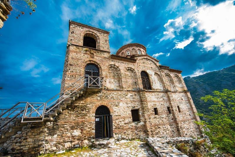 Asen ` s forteca zdjęcie royalty free