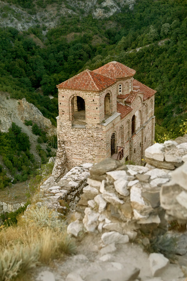 Download Asenova castle in Bulgaria stock image. Image of environment - 5755333