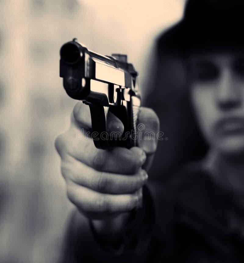 Asesino fotografía de archivo