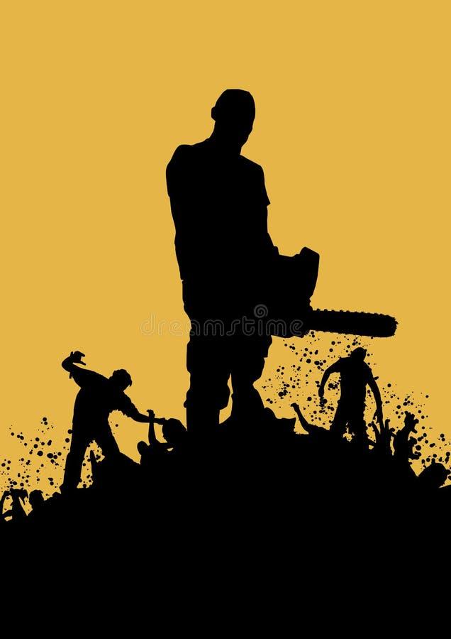 Asesino 2 del zombi libre illustration