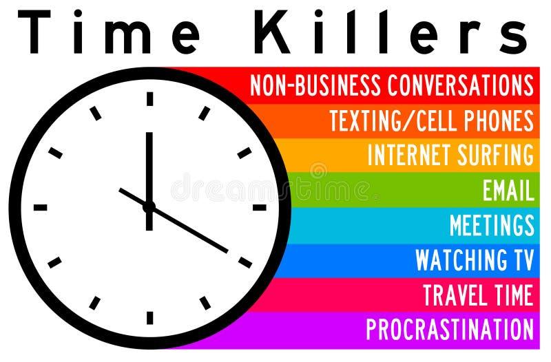 Asesinos de tiempo libre illustration