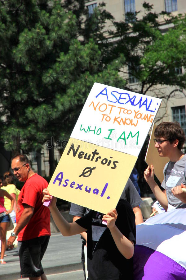 Asexual Movement royalty free stock photos