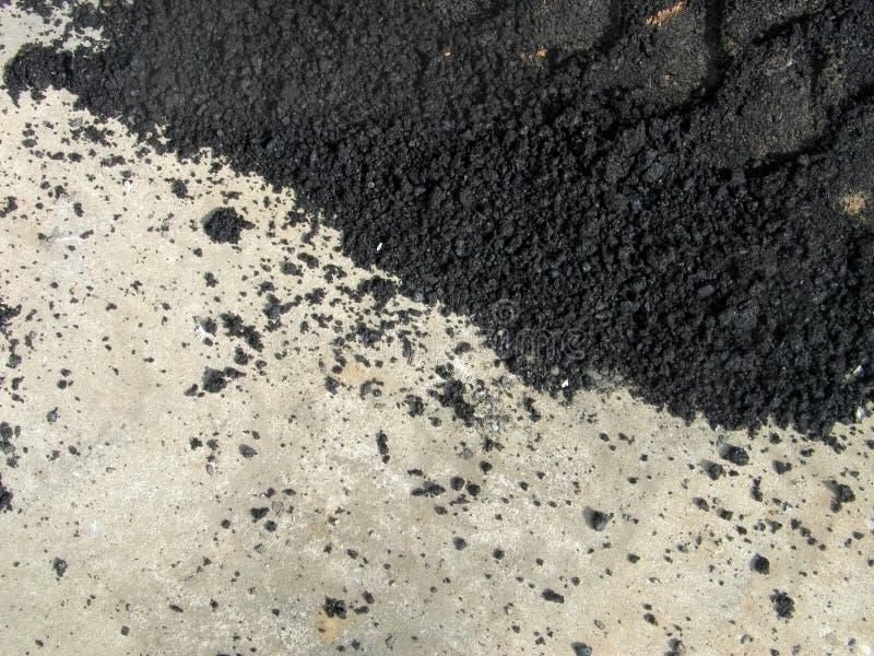 asfaltcement royaltyfri foto