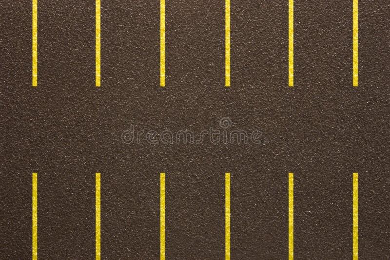 Asfaltowy parkinglot - Sfałszowana tekstura obrazy royalty free