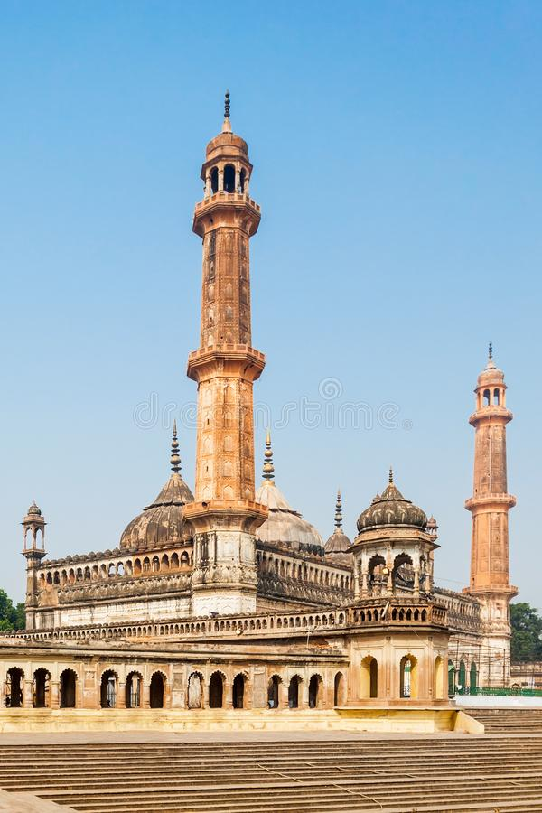 Bara Imambara, Lucknow. The Asfi Mosque, located near the Bara Imambara in Lucknow, India stock images