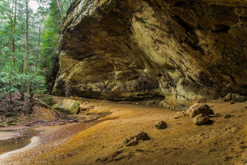 Ash Cave stockfotografie