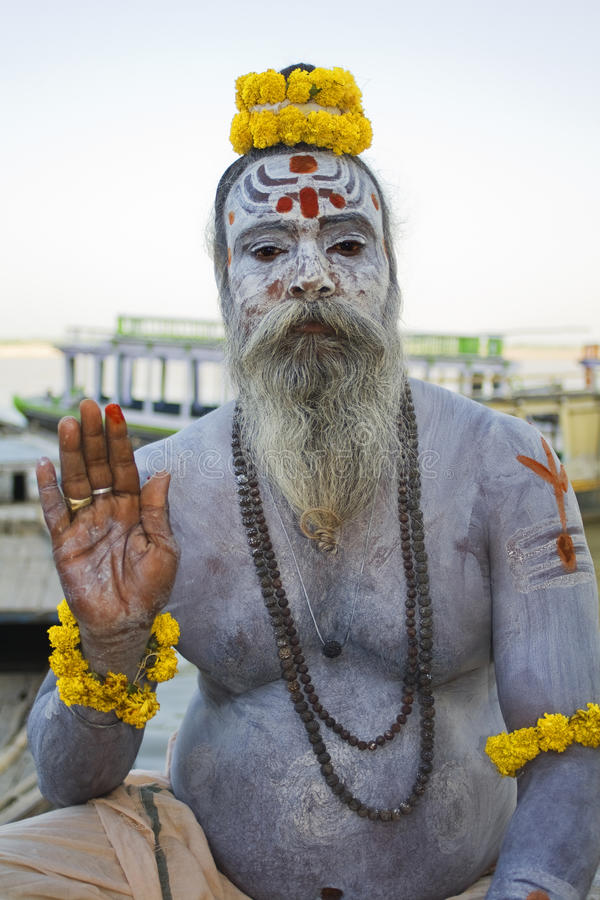 Download Varanasi, India, Sadhu Editorial Stock Image - Image: 23088139
