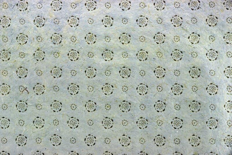 Ash Gray Vintage Indian Textured Handmade-Papier-Hintergrund-Text lizenzfreies stockfoto