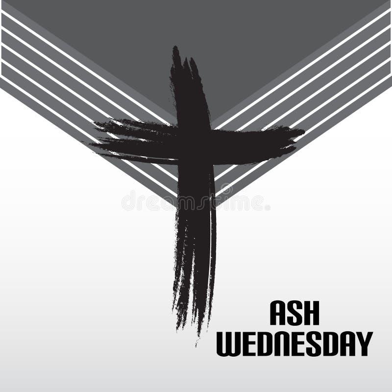 Ash Wednesday stock abbildung