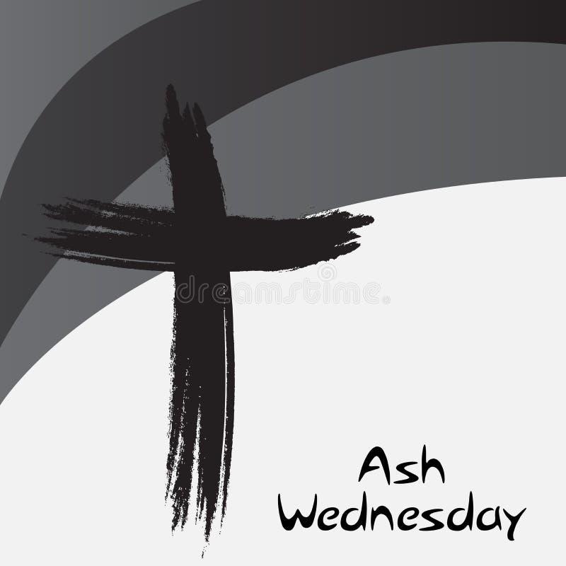 Ash Wednesday vektor abbildung