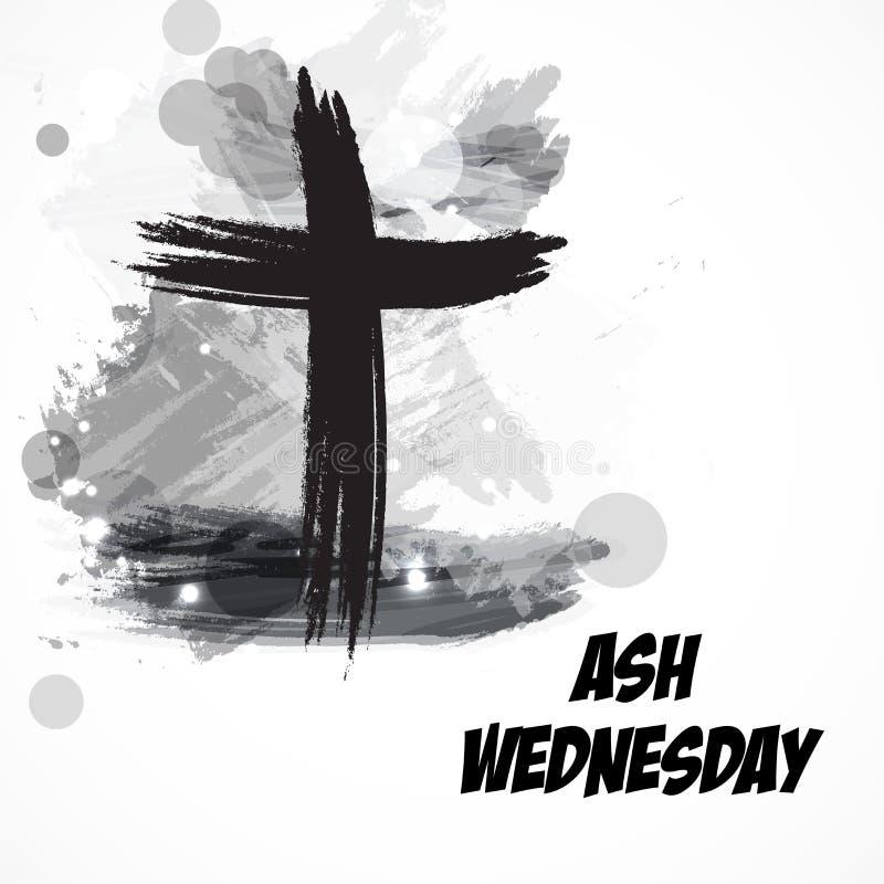 Ash Wednesday lizenzfreie abbildung