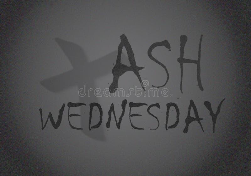 Ash Wednesday Background arkivfoton