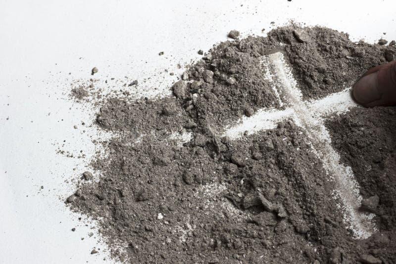 Ash Wednesday lånat arkivfoton
