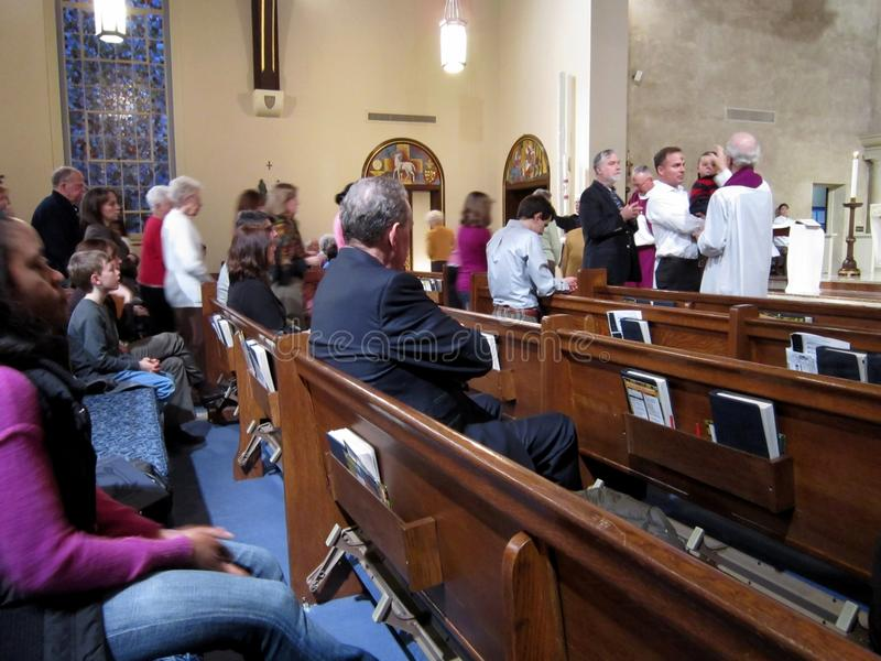 Download Ash Wednesday Service editorial photo. Image of season - 23506221