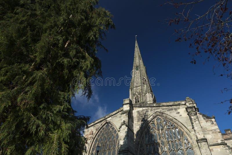 Ashbourne, Derbyshire, R-U : En octobre 2018 : Paroisse ch d'Oswalds de saint images libres de droits