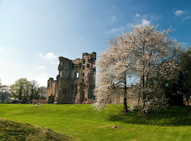 ashby замок стоковая фотография rf