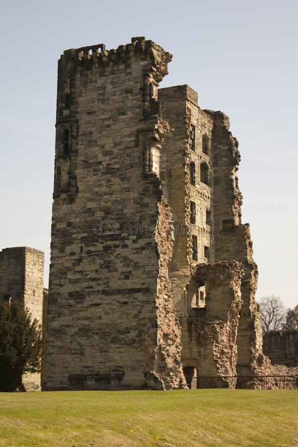 Ashby de la Zouch Castle Tower stock image