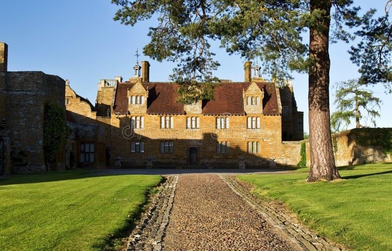 Ashby Saint Ledgers Manor House arkivbild