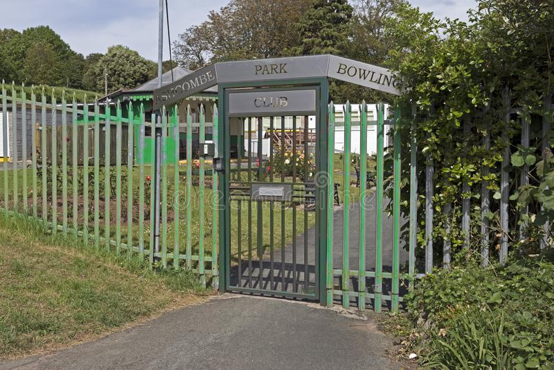 Ashcombe parka kręgle klub zdjęcie royalty free
