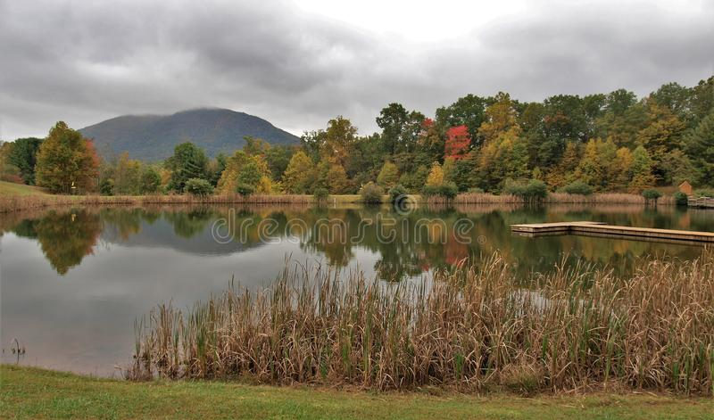 Ashe County Park lizenzfreie stockfotografie