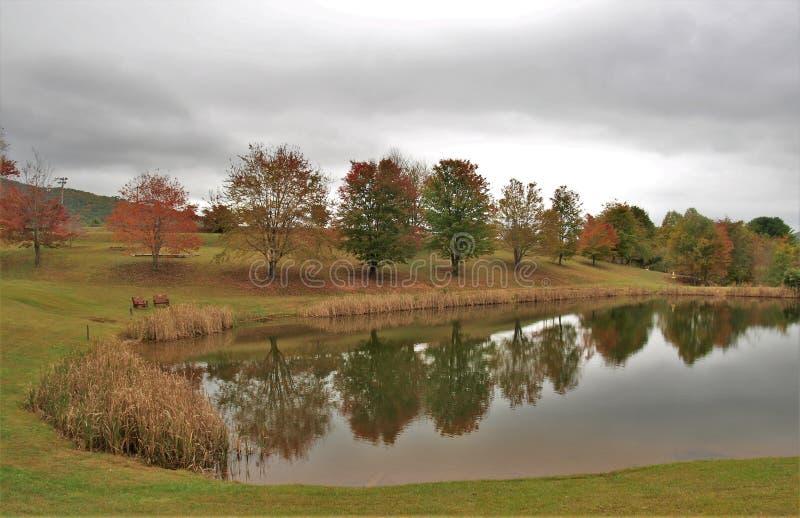 Ashe County Park fotos de archivo
