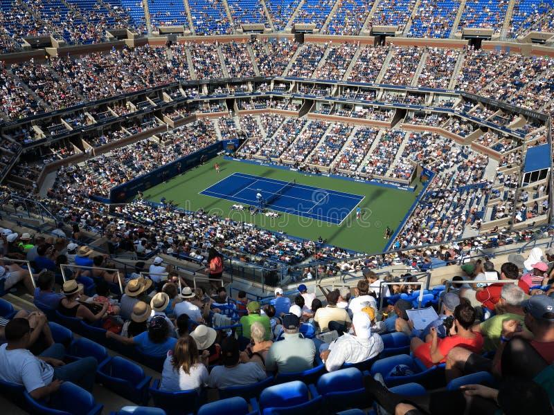 Ashe Stadium - tenis del US Open fotografía de archivo