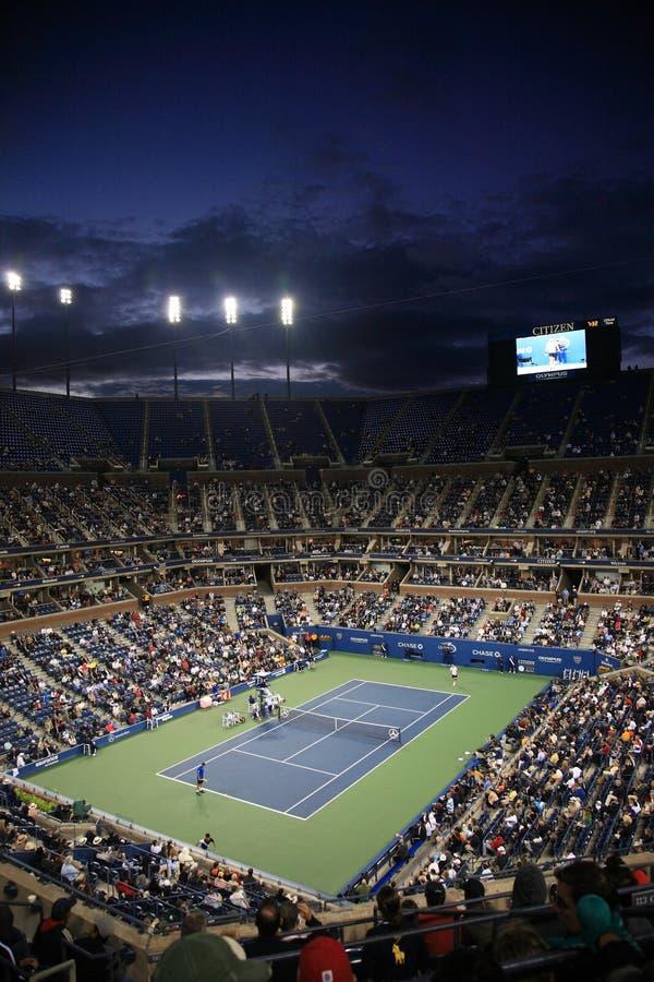 Ashe Stadium - US Open Tennis stock images