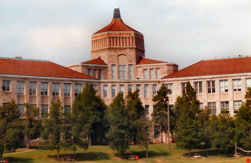 Ashevill υψηλό σχολείο-Cougars-ιταλικό Renissance, αρθ. deco-1927 στοκ εικόνα με δικαίωμα ελεύθερης χρήσης