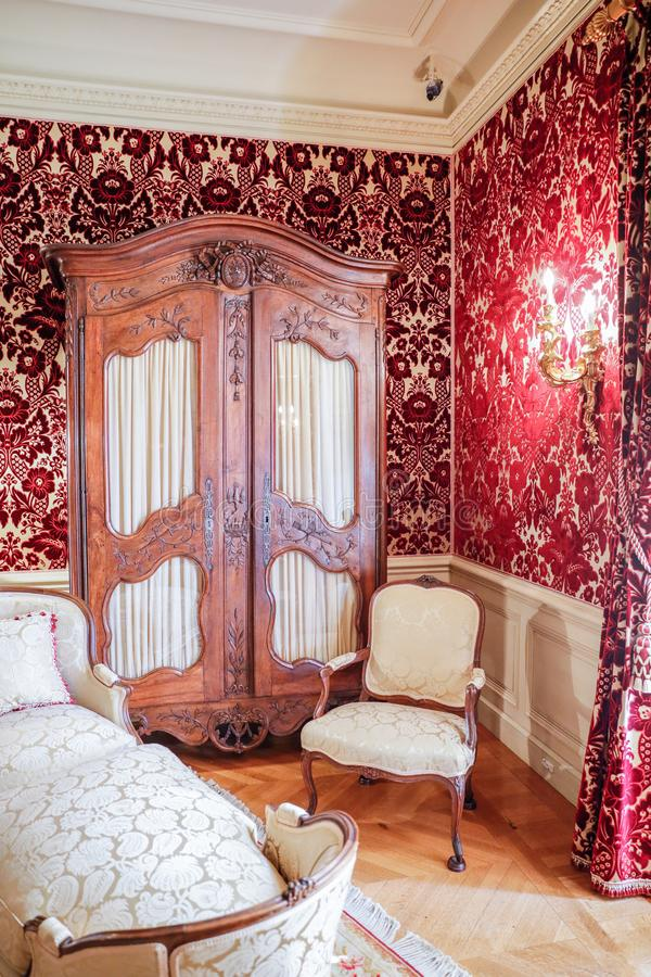 ASHEVILLE, СЕВЕРНАЯ КАРОЛИНА - 4-ОЕ МАРТА 2017: Дом Biltmore стоковые фото